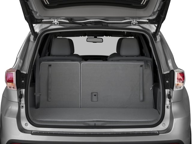 Toyota Highlander Cargo Space >> 2016 Toyota Highlander Xle V6